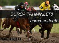 02 ARALIK 2016 CUMA BURSA AT YARIŞI TAHMİNLERİ (COMMANDANTE)